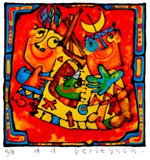 Ad Verstijnen - Indianentent