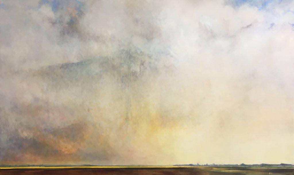hiske wiersma Lucht olieverf op linnen 180 x 110
