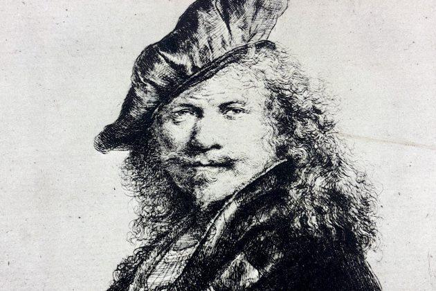 """Expositie """"Rembrandt – een overzicht van .."""" in Theater Sneek"""