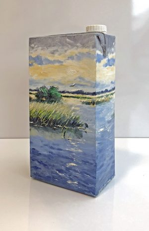 Bart Bosma - Melkpak met Fries landschap VI