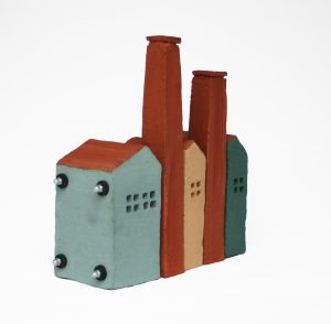 José van den Tweel - Fabriekje uit vijf delen