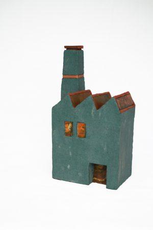 José van den Tweel - Fabriek met schoorsteen II