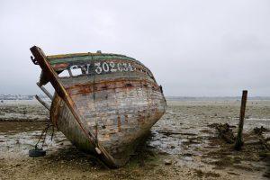 Anton Rijsdijk - Trawler wreck near Gavres, Brittany.