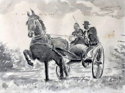 Geert Bok - Paard en wagen