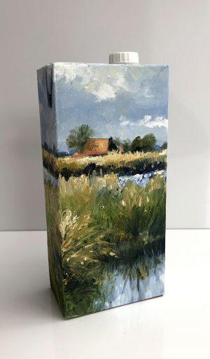 Bart Bosma - Melkpak met Fries landschap VIII