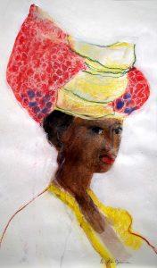 Jan Peter van Opheusden - Portret van een vrouw II