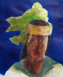 Jan Peter van Opheusden - Portret van een vrouw III