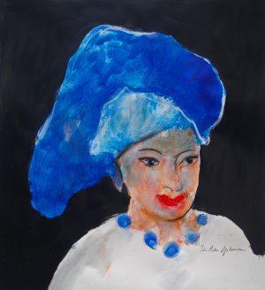Jan Peter van Opheusden - Portret van een vrouw I