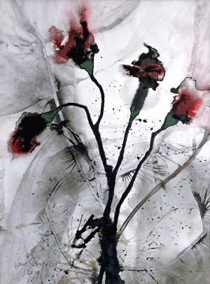 Bert van Santen - Les fleurs I