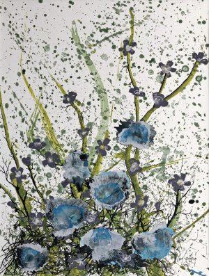 Bert van Santen - Les fleurs II