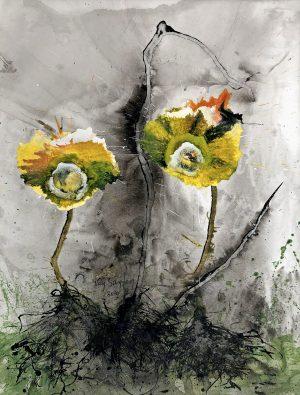 Bert van Santen - Les fleurs VII
