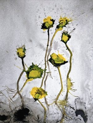 Bert van Santen - Les fleurs VIII