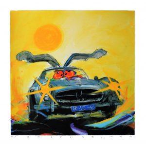 Ad Verstijnen - Mercedes vleugeldeur