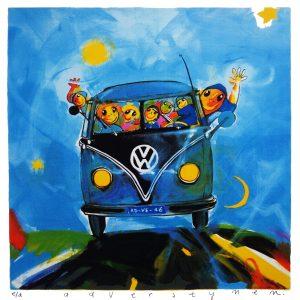 Ad Verstijnen - VW bus panorama