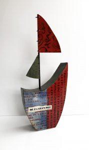 Anneke Harting - Zeilboot