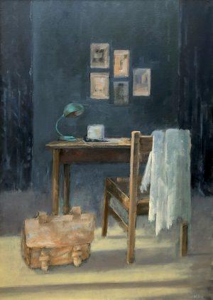 Theo Wolfs - Stoel met tafel