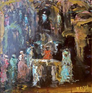 Oesje Zegel - Het altaar I