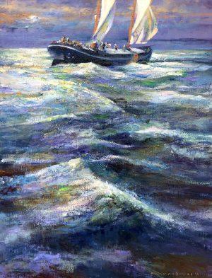 Klaas Werumeus Buning - Nachtboot