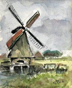 Geert Bok - Landschap I