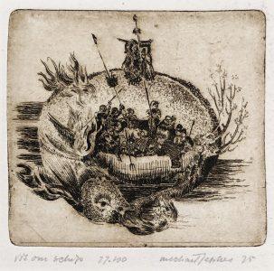 Michael Jepkes - Vis om schip
