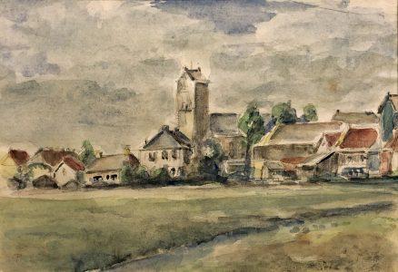 Geert Bok - Landschap IV