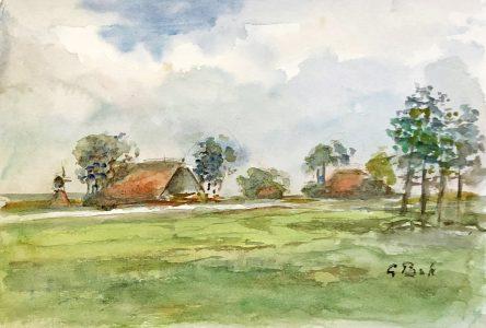 Geert Bok - Landschap V