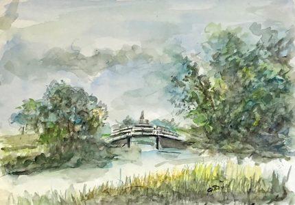 Geert Bok - Landschap VI
