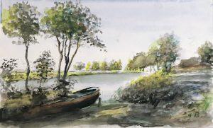Geert Bok - Landschap VIII