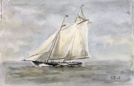 Geert Bok - Landschap IX
