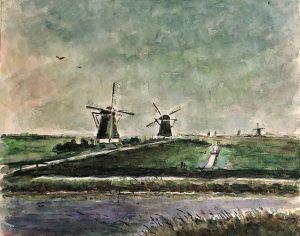 Geert Bok - Landschap XI