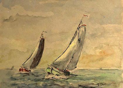 Geert Bok - Skûtsjes III