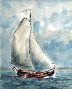 Geert Bok - Skûtsje II