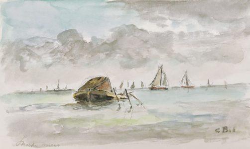 Geert Bok - Visbootje Sneekermeer