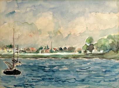 Geert Bok - Landschap XIII