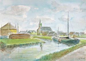 Geert Bok - Landschap XIV