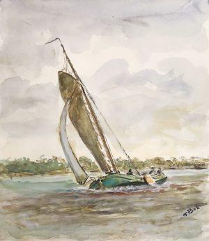 Geert Bok - Skûtsje IV