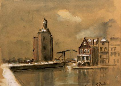 Geert Bok - Landschap XV