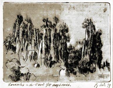 Gerard Lutz - Landschap in de Tavel
