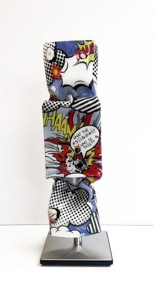 Ad van Hassel - Hommage to Roy Lichtenstein I