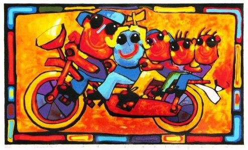 Ad Verstijnen - Family Bike