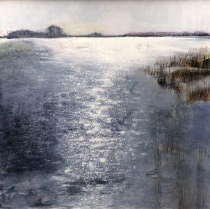 Annemarie IJssels - Winterlandschap III