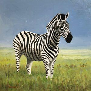 Wiebe van der Zee - Zebra