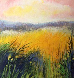 Doet Boersma - Kleurrijk veld