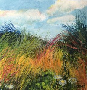 Doet Boersma - Kleurrijk rietveld
