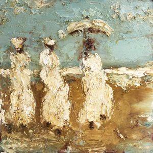 Oesje Zegel - Dames op het strand I