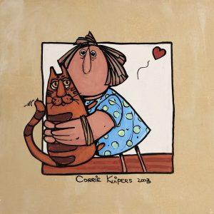 Corrie Kuipers - Kat en vrouw