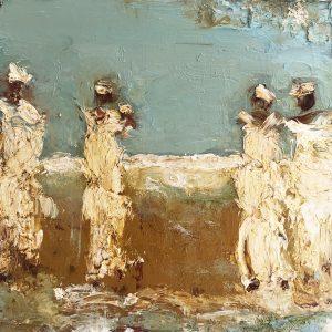 Oesje Zegel - Dames op het strand II