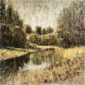 Henrie Vogel - Polderlandschap VI