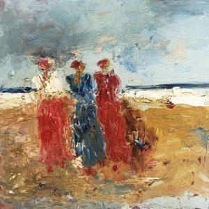 Oesje Zegel - Dames op het strand IV