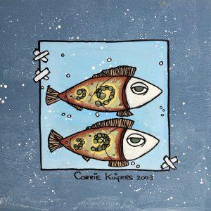Corrie Kuipers - Twee vissen